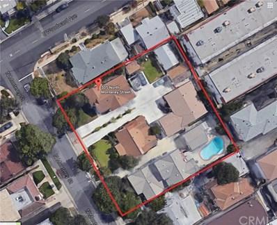 315 N Monterey Street, Alhambra, CA 91801 - MLS#: AR17129633