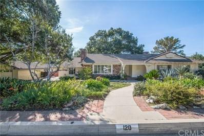 120 Elkins Avenue, Arcadia, CA 91006 - MLS#: AR18033111