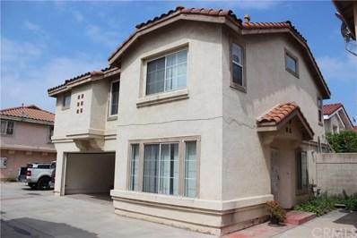 9724 Cortada Street UNIT G, El Monte, CA 91733 - MLS#: AR18119799