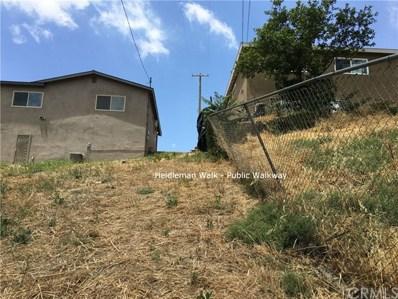 0 Heidleman Road, El Sereno, CA 90032 - MLS#: AR18142138