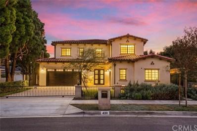 430 W Camino Real Avenue, Arcadia, CA 91007 - MLS#: AR18161250