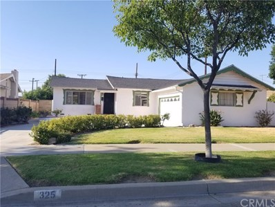 325 E Quincy Avenue, Orange, CA 92867 - MLS#: AR18190161