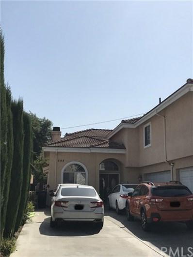 598 E Graves Avenue, Monterey Park, CA 91755 - MLS#: AR18261519
