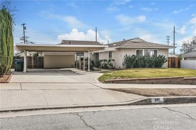 940 Hastings Ranch Drive, Pasadena, CA 91107 - MLS#: AR19010069