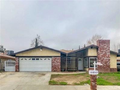 44843 Hanstead Avenue, Lancaster, CA 93535 - MLS#: AR19036202