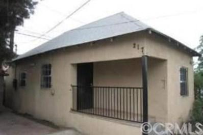 217 East 52nd Street, Los Angeles, CA 90011 - MLS#: AR19119602