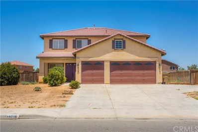 19016 Mono Drive, Hesperia, CA 92345 - MLS#: CV17157588
