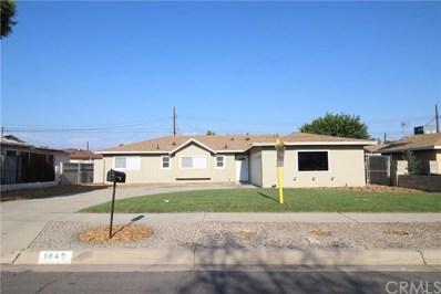1849 Evelyn Circle, Colton, CA 92324 - MLS#: CV17178322