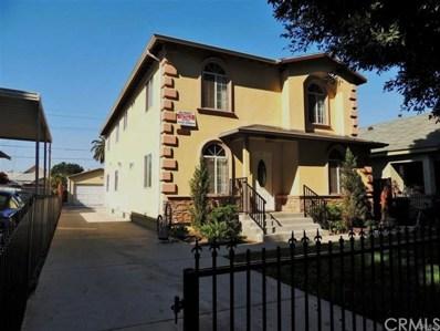 1261 E 54th Street, Los Angeles, CA 90011 - MLS#: CV17179827