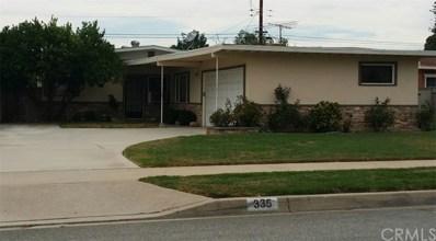 335 S 4th Avenue, Covina, CA 91723 - MLS#: CV17180047