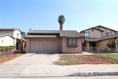 493 Cherry Vista Drive, Perris, CA 92571 - MLS#: CV17180563