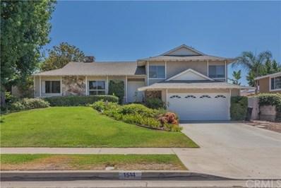 1514 E Palm Drive, Covina, CA 91724 - MLS#: CV17196702