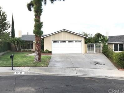 19441 Pilario Street, Rowland Heights, CA 91748 - MLS#: CV17209704