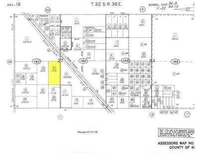 0 No Site Address California C, California City, CA  - MLS#: CV17218915