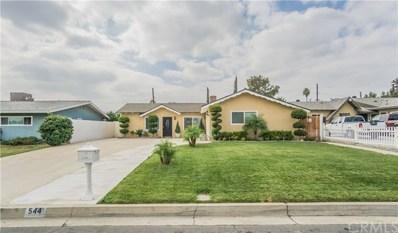 544 N Ashford Avenue, Fontana, CA 92336 - MLS#: CV17221668