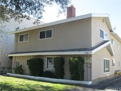 157 N Allen Avenue, Pasadena, CA 91106 - MLS#: CV17229725