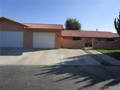 27535 Lakeview Drive UNIT 74, Helendale, CA 92342 - MLS#: CV17247739