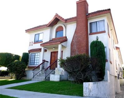 315 N Stoneman Avenue UNIT A, Alhambra, CA 91801 - MLS#: CV17271445
