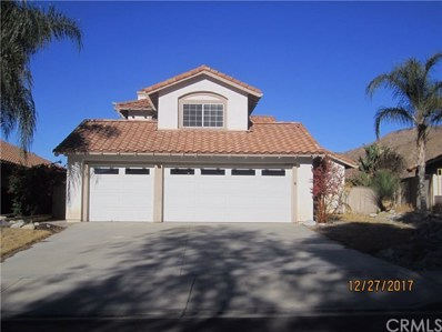 23918 Cedar Creek Te, Moreno Valley, CA 92557 - MLS#: CV17279972