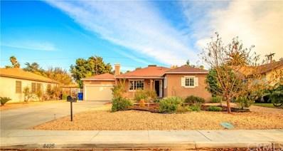 4426 Angelo Street, Riverside, CA 92507 - MLS#: CV18005358