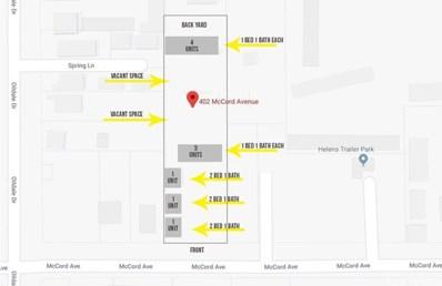 402 McCord Avenue, Bakersfield, CA 93308 - MLS#: CV18009372