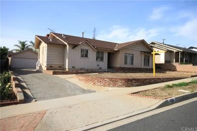459 N Danehurst Avenue, Covina, CA 91724 - MLS#: CV18010265