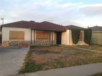 17586 Fairfax Street, Fontana, CA 92336 - MLS#: CV18018594