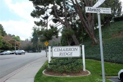 2127 Abrazo Drive UNIT 2, West Covina, CA 91791 - MLS#: CV18018896