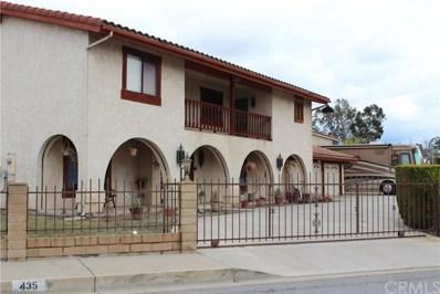 435 E Camden Street, Glendora, CA 91740 - MLS#: CV18021613