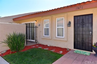 1367 Bouquet Drive UNIT E, Upland, CA 91786 - MLS#: CV18036735
