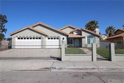 714 E Shamrock Street, Rialto, CA 92376 - MLS#: CV18044700