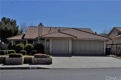 4508 Paseo Hermoso, Palmdale, CA 93551 - MLS#: CV18045890