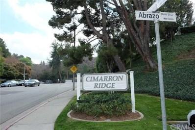 2121 Abrazo Drive UNIT 5, West Covina, CA 91791 - MLS#: CV18055057