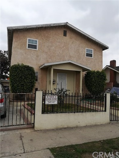 1134 E 67th Street, Los Angeles, CA 90001 - MLS#: CV18058595