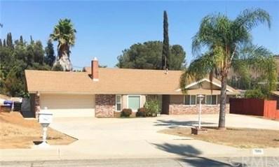 7886 Big Rock Drive, Riverside, CA 92509 - MLS#: CV18061857