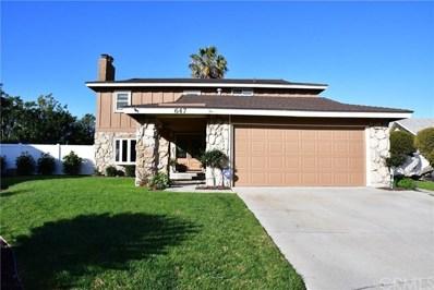 647 Hoss Street, Diamond Bar, CA 91765 - MLS#: CV18074160