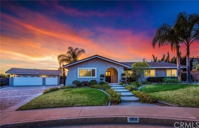 1308 Pebble Springs Lane, Glendora, CA 91741 - MLS#: CV18075323