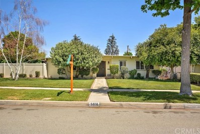 1408 N 1st Avenue, Upland, CA 91786 - MLS#: CV18095957