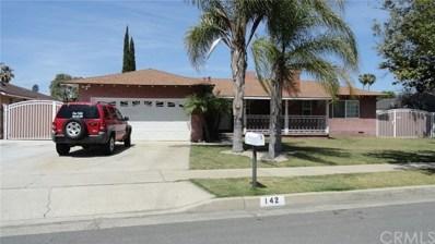 142 E Madrona Street, Rialto, CA 92376 - MLS#: CV18108610