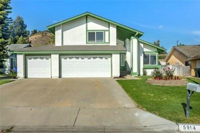 5914 Quiroz Drive, Riverside, CA 92509 - MLS#: CV18109386