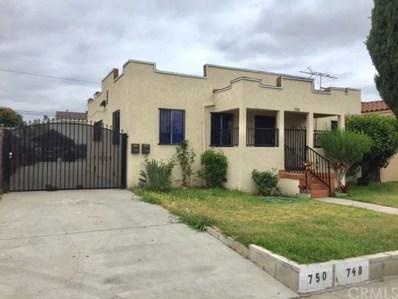 748 S Sadler Avenue, Los Angeles, CA 90022 - MLS#: CV18111710