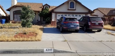 4340 Saddleback Road, Palmdale, CA 93552 - MLS#: CV18113549