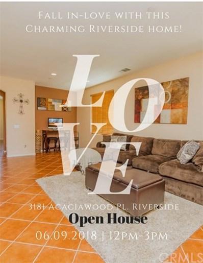 3181 Acaciawood Place, Riverside, CA 92503 - MLS#: CV18117859