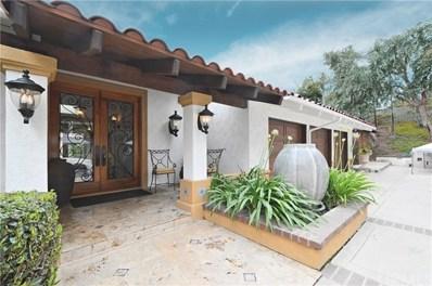 4845 Live Oak Canyon Road, La Verne, CA 91750 - MLS#: CV18124545