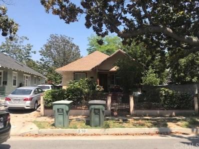 510 N El Molino Ave, Pasadena, CA 91101 - MLS#: CV18136973