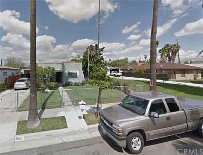 1865 Milton Street, Riverside, CA 92507 - MLS#: CV18166775