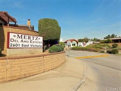 2601 E VICTORIA Street UNIT 60, Rancho Dominguez, CA 90220 - MLS#: CV18166872