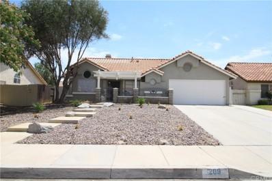 209 Noga Avenue, San Jacinto, CA 92582 - MLS#: CV18167680