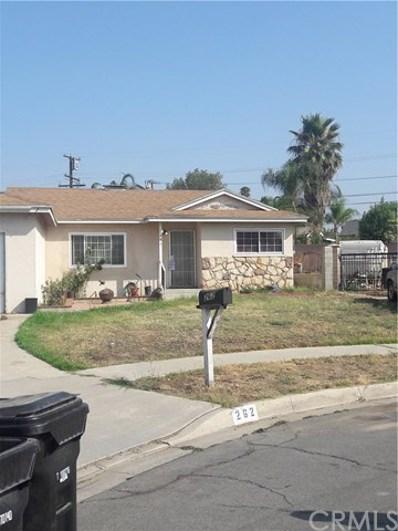 262 E Carter Street, Rialto, CA 92376 - MLS#: CV18172465