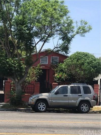 5549 Holmes Avenue, Los Angeles, CA 90058 - MLS#: CV18182943